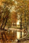thomas worthington whittredge spring on the river painting