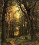 thomas worthington whittredge the old hunting ground painting