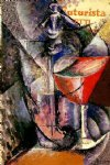 glass and syphon by umberto boccioni painting