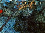 states of mind those who go by umberto boccioni painting