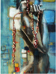 abstract figure work custom art 1 by unknown artist painting