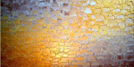 abstract gold art 3 painting