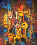 african abstract art 1 painting 86277