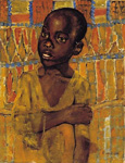 african boy paintings: 86288