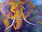 african elephant 1 paintings: 86296