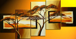 african trees group art 1 painting 86331