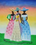 african women 1 by unknown artist painting