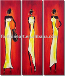 african women group art 1 painting