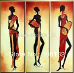 african women group art 2 painting
