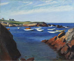 edward hopper ogunquit by unknown artist painting