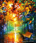 modern abstract landscape art 8 painting