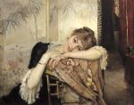 unknown artist art - albert edelfelt virginie by unknown artist