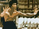 bruce lee by unknown artist painting