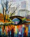 central park by unknown artist painting