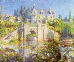 cooper a california water garden at redlands by unknown artist painting