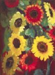 emil nolde sunflowers by unknown artist painting