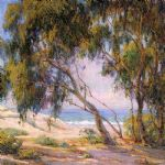 hilliard beside the sea laguna beach by unknown artist painting