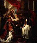 holy communion of st teresa of avila by claudio coello by unknown artist painting