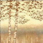 james wiens birch silhouette i by unknown artist painting