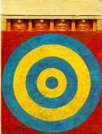 jasper johns target with four faces by unknown artist painting