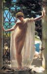 john reinhard weguelin lesbia by unknown artist painting