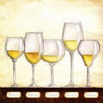 les vins blancs by unknown artist painting