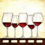 les vins rouges by unknown artist painting