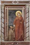 life of mary magdalene mary magdalene and cardinal pontano by giotto di bondone by unknown artist painting