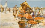 marche aux oranges by unknown artist painting