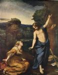 noli me tangere by corregio 1525 by unknown artist painting