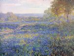onderdonk fields of bluebonnets by unknown artist painting