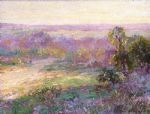 onderdonk last rays of sunlight by unknown artist painting