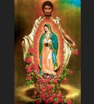 our lady of guadalupe by unknown artist painting