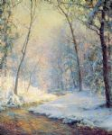 palmer the early snow by unknown artist painting