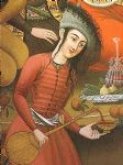 unknown artist persian woman pouring wine paintings: 81578