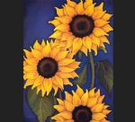 sunflowers by will rafuse by unknown artist painting