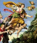 the assumption of mary magdalene into heaven domenichino by unknown artist painting