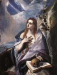 the magdalene by el greco by unknown artist painting
