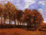 vincent van gogh autumn landscape paintings