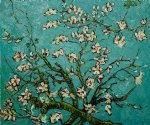 vincent van gogh branches of an almond tree in blossom ii painting