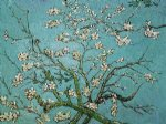 vincent van gogh branches of an almond tree in blossom iii painting