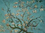 vincent van gogh branches of an almond tree in blossom painting