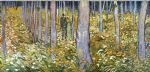 vincent van gogh couple walking in the forest art