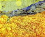 faucheur 1889 by vincent van gogh painting-85589