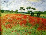 vincent van gogh field of poppies painting-78801