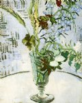 vincent van gogh flowers in a vase painting 23462