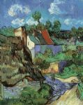 vincent van gogh houses at auvers paintings