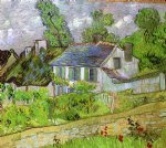 vincent van gogh houses in auvers painting 23490