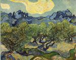 vincent van gogh landscape with olive trees painting 80177