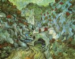 les peiroulets ravine by vincent van gogh painting